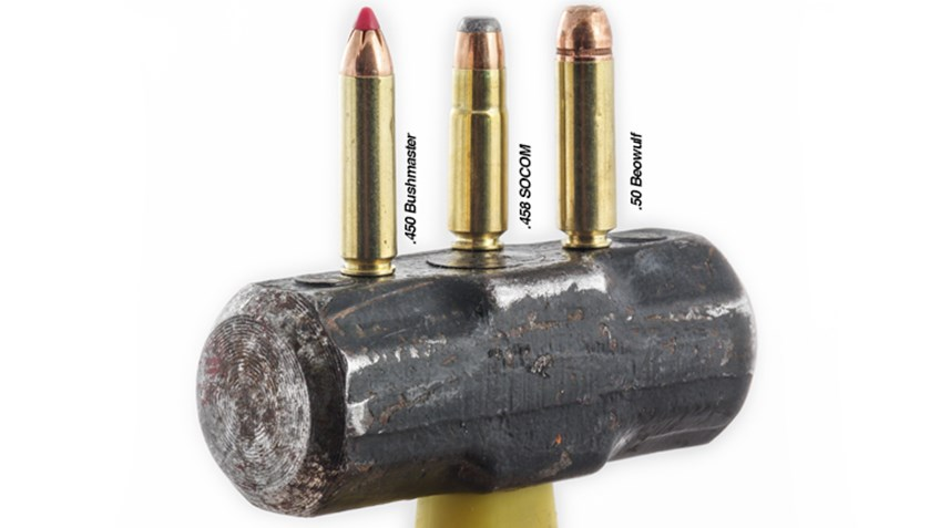 Big Bore Ar Cartridges Obsidian Arms