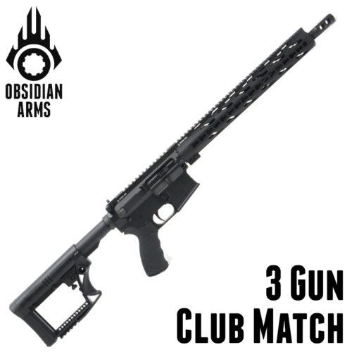 3 Gun Rifle – Club Match