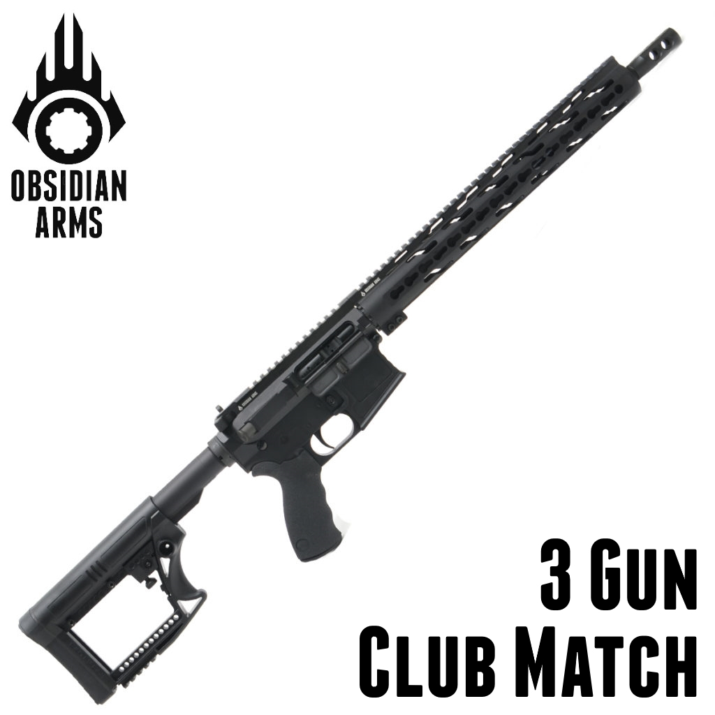 3 Gun Rifle – Club Match