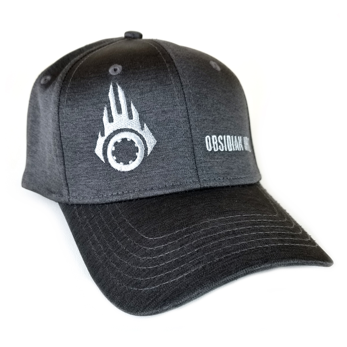 Black Charcoal and Silver Hat