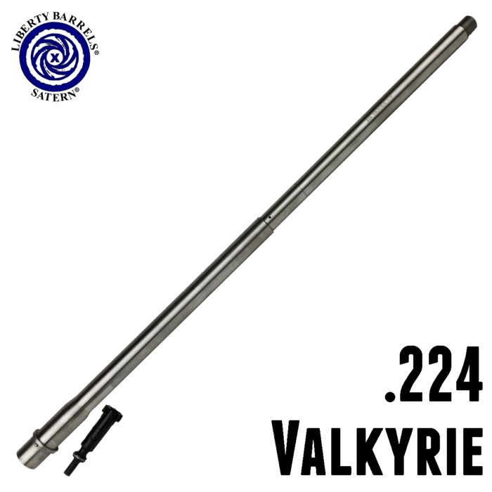 224 Valkyrie Medium Contour Barrel with Bolt