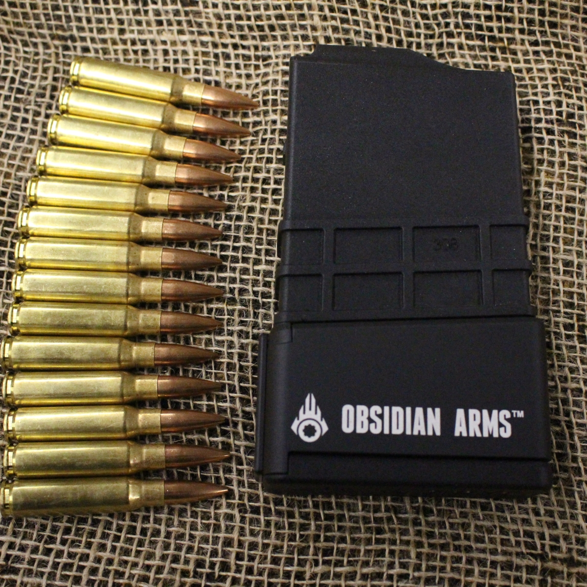 Obsidian Arms +6 Extension for MDT 308 Polymer Magazine